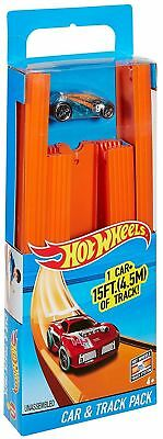 Hot Wheels Track Builder System - Car & Track Pack - BHT77 - NEW