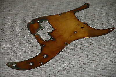 Fender-Style Precision Bass Vintage 57 Pickguard Mighty Mite=solid brass=USA1978