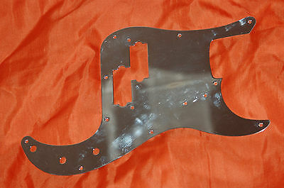 Fender-Style Precision Bass Vintage Pickguard Mighty Mite=made in USA1978=chrome