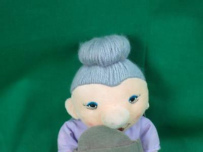New Over The Hill Hot Flash Fund Gray Hair Menopause Plush Grandma Doll Russ