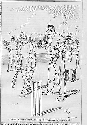 LARGE Collection Vintage Punch  CRICKET Cartoons