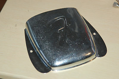 Fender Jazz Bass Bridge Cover=real Vintage made in Fullerton/USA ca.1965