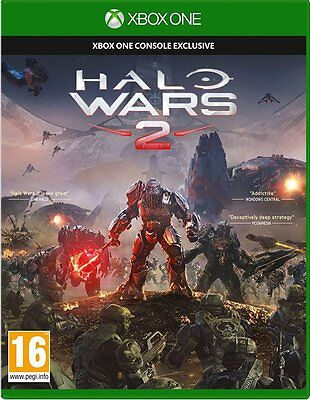 Halo Wars 2 Microsoft Xbox One Game New and Sealed
