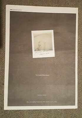 Jesus and Mary chain  1992 press advert Full page 30 x 42 cm mini poster