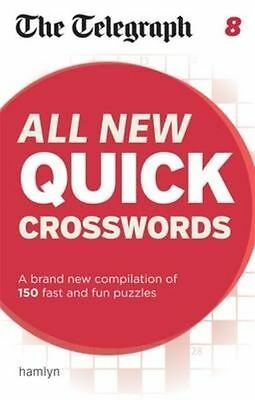 The Telegraph: All New Quick Crosswords 8 (The Telegraph Puzzle Books),New Condi