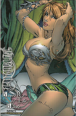 WITCHBLADE BEARERS OF THE BLADE # 1 EBAS-VARIANT Lim.333 Ex.- COMIC ACTION 2007