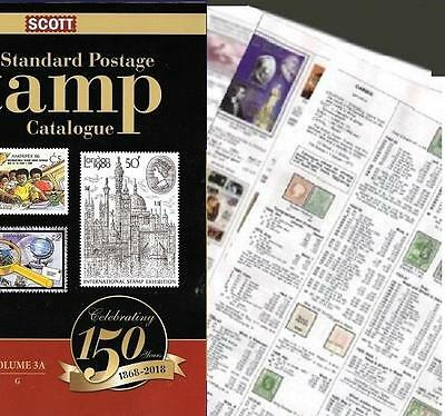 Gambia 2018 Scott Catalogue Pages 33-98