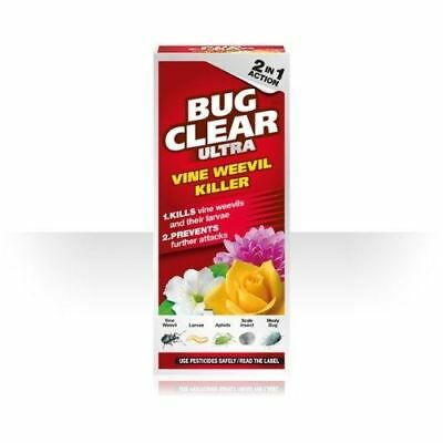 Bug Clear Ultra Vine Weevil Killer 2 in 1 Action  480ml Pest Control