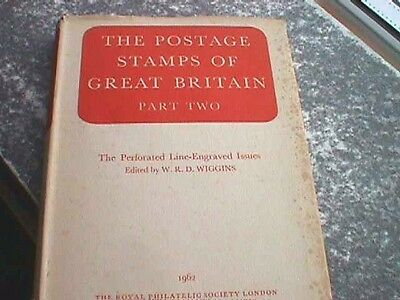 The Postage Stamps of Great Britain, Part Two - Hardback, 1962