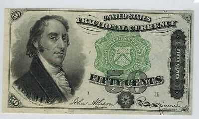US. Fractional Currency 4th Issue Fifty Cents 50c Dexter