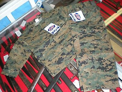 Toddler Usmc Marpat Military Fatigue Set - New- Size 3T