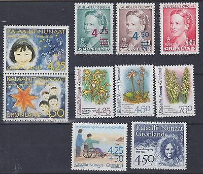 866) Greenland - Gronland 1996 - Mint Never Hinged Sets -