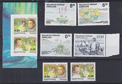 870) Greenland - Gronland 2005 - Mint Never Hinged Sets  -