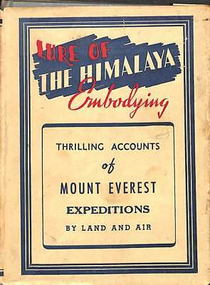 Lure of the Himalaya, Good Condition Book, K C Bhanja, ISBN