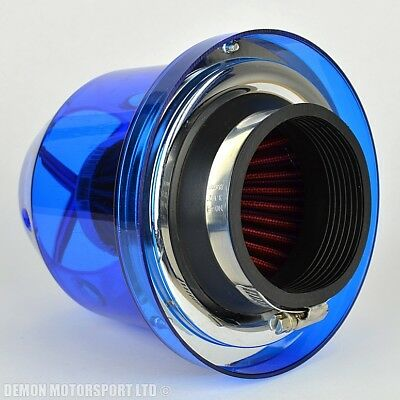 "Universal Performance Air Filter Blue For 76mm / 3"" inch Induction Kit (38441)"
