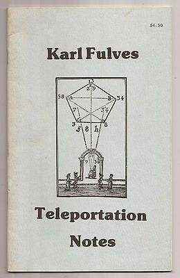 TELEPORTATION NOTES by Karl Fulves 1979
