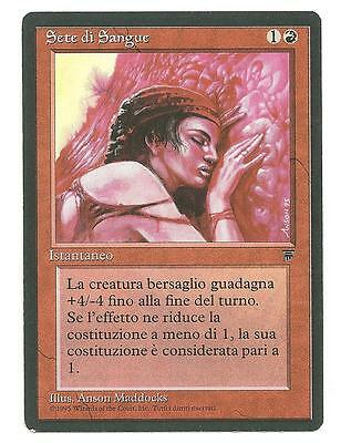 MTG - Sete di Sangue - Blood Lust - LEGGENDE / LEGENDS