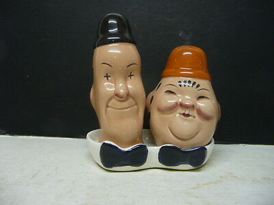 Beswick Laurel And Hardy Salt And Pepper Pots