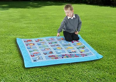 Safetots Luxury Handmade Play Mat Padded Playmat Child Alphabet Mat for Nursery