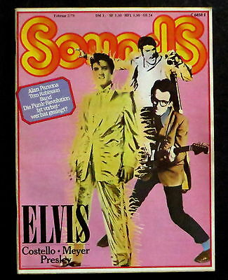 Sounds 02/78 Cover: Elvis Presley & Elvis Costello,Hoelderlin,Another Side of B.
