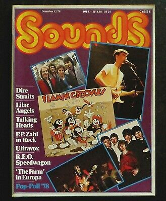 Sounds 12/78 Cover: Flamin' Groovies/Dire Straits/Talking Heads,Kate Bush,Ultrav