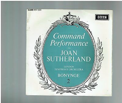 Joan Sutherland Lso Command Performance No2 Bellini Beatrice Di Tenda