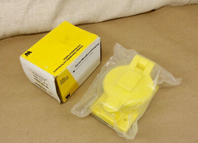 Woodhead 6300 Flip Lid 50A Outlet Cover AH7788-CR Molex 1301550094 New Surplus