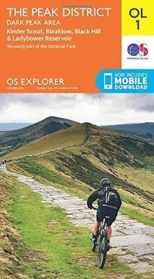 NEW - OS Explorer OL1 The Peak District, Dark Peak area (OS (Map) - 0319242404