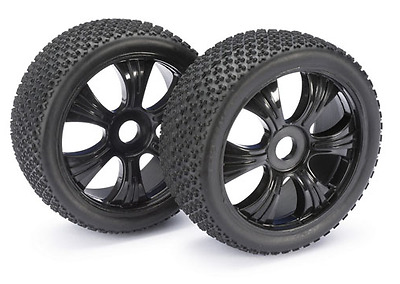 """Absima 1/8 LP Buggy Pin Spike """"Dirt"""" Wheels/Tyres 17mm Hex  2520011 HPI Trophy"""