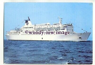 FE1932 - French Ferry - Liberte , built 1980 - postcard