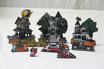 Shelia's Collectibles Halloween Theme Boo Mobile, Trick or Treat Lot of 10