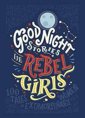 **NEW** - Good Night Stories for Rebel Girls (Hardcover) - 014198600X