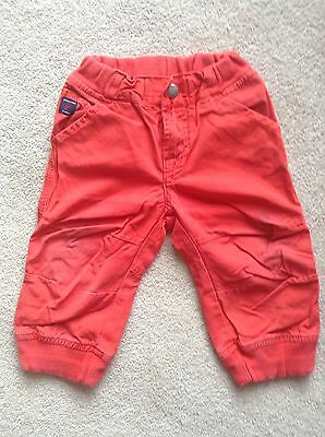 *Polarn O Pyret * red cotton trousers , Size 6-9 months (74 cm)