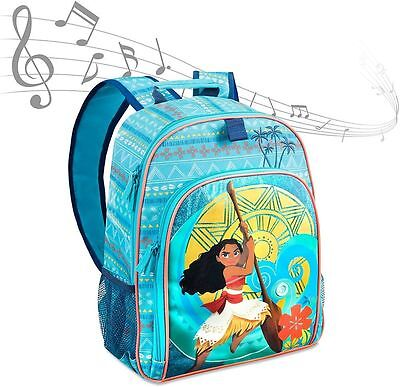 Moana Musical Backpack singing Disney Bag new Rucksack How far I'll go