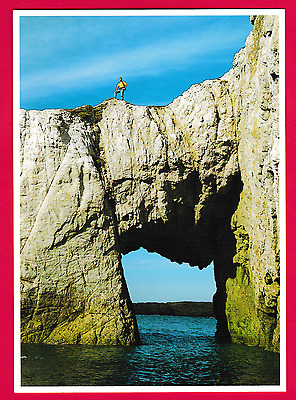 Unposted card. Sea Arch, between Rhoscolyn and Trearddur Bay, Anglesey