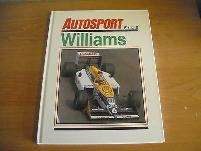 Autosport File WILLIAMS HB 1988 FORMULA ONE Motor Racing Photographs History