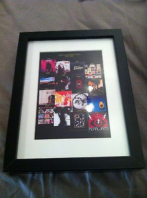 Pearl Jam  Framed Album Covers Souvenir