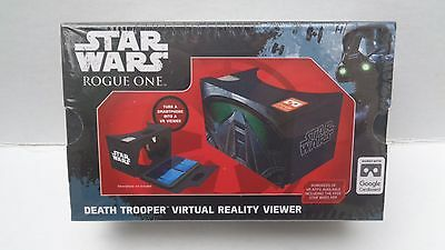 Star Wars Rogue One Death Trooper Virtual Reality Viewer,ages 8-adult,NEW/SEALED