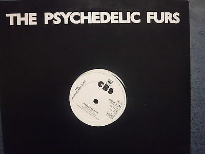 """THE PSYCHEDELIC FURS """"Pretty In Pink"""" Rare 12"""" in Original Cover - CBS A 13 1327"""
