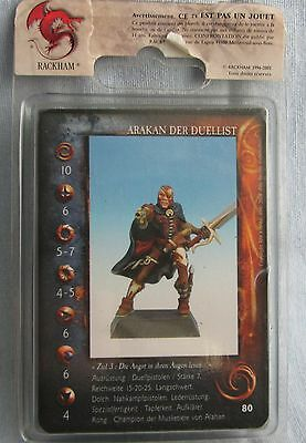 Rackhams Confrontation - Arakan the Duelist Limited Edition 658/2000