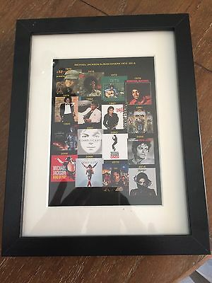 Michael Jackson  Framed Album Covers Souvenir