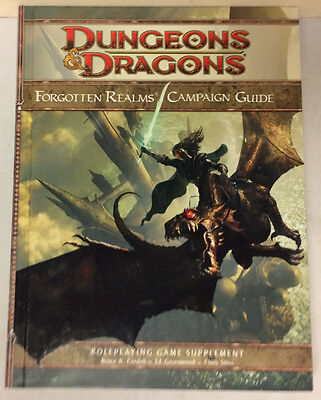 D&D Dungeons & Dragons 4th Edition Forgotten Realms Campaign Guide