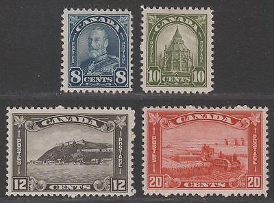 Canada 1930 King George V Part Set to 20c Mint cat £70