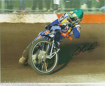 Chris Holder Isle of Wight Original Professional 10 x 8 Photo HAND SIGNED