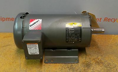 Baldor Reliance Electric Motor M3611T 3HP 208-230/460 1750RPM 182T Frame New