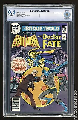 Brave and the Bold (1955 1st Series) Whitman #156 CBCS 9.4