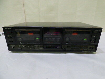 Sony TC-WR730 Stereo Dual Cassette Deck Tape Player