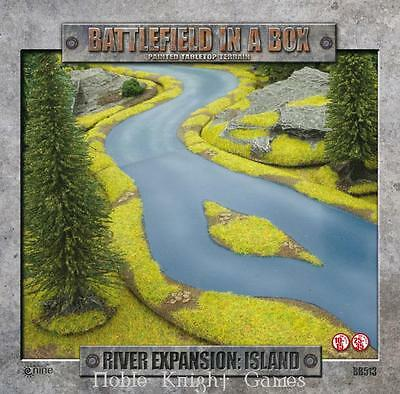 GF9 Battlefield in a Box River Expansion - Islands Box MINT