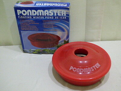 PONDMASTER FLOATING POND DE-ICER 120 Watts