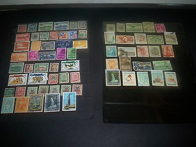 Fantastic lot of  Dominica Stamps Removed from Albums Dom10APR
